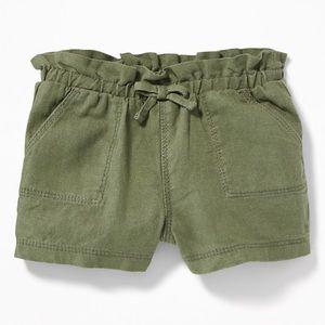 5/$25 Old Navy Linen-Blend Pull On Shorts